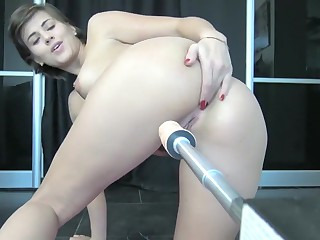 Teen Hallow Anal With Intrigue b passion Machine, Atm, Wet Ass Added to Squirt By Vic Alouqua