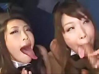 Japanese Teens Blowjob