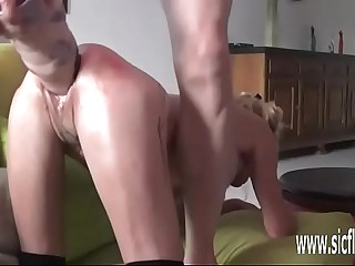 Parrot fisting increased by renowned dildo fucked amateur